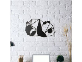 Panda Déco Mural Géométrique
