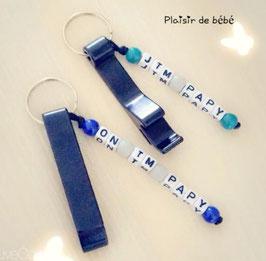 """Porte clefs """"Papy"""""""