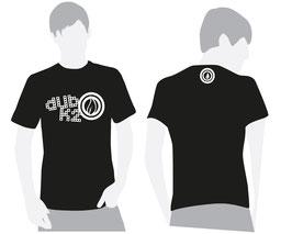T-Shirt Noir Homme Dub K'2 - Vintage Logo