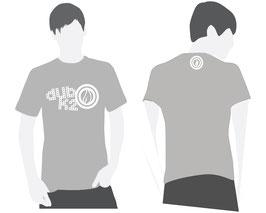 T-Shirt Gris Homme Dub K'2 - Vintage Logo