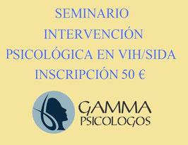 Inscripción del Seminario Intervención Psicológica en VIH/SIDA