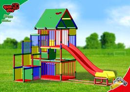 Baby Playcenter met Modulaire Glijbaan