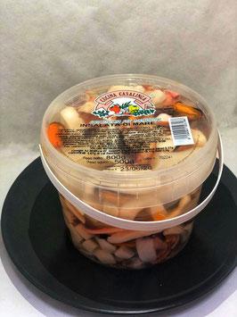 Insalata di mare in salamoia gr 800- prezzo al pz