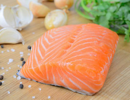 Trancio di Salmone sottovuoto per Sashimi e Tartare 125gr-prezzo al pz