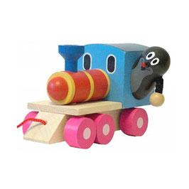 Maulwurf Lokomotive zum Ziehen
