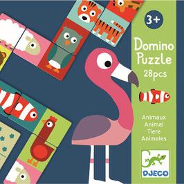 Djeco  Domino Tiere 28 Teile