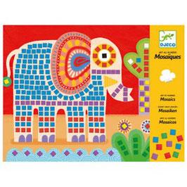 Djeco  Mosaikbilder Elefant und Schnecke