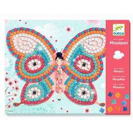Djeco  Mosaikbilder Schmetterling 2 Stück