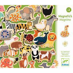 Djeco Magnetset 36-teilig  Zootiere