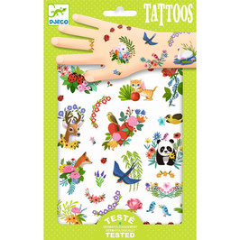 "Djeco Tattoos "" Happy Spring"""