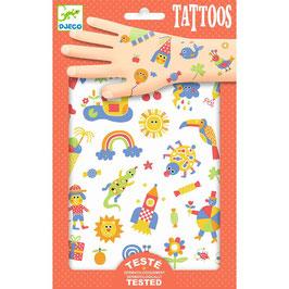"""Djeco Tattoos """"Für die Kleinen"""""""