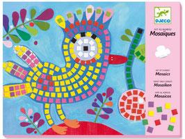 Djeco  Mosaikbilder Vogel und Marienkäfer