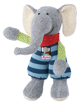Sigikid Kuscheltier Schmuse-Elefant Lolo Lombardo
