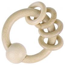 Greifling natur - 3 Ringe