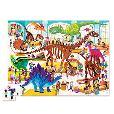 Bertoy Puzzle Ein Tag im Museum - Dinosaurier