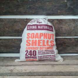 Living naturally Soapnut Shells/ 500 GRAMS