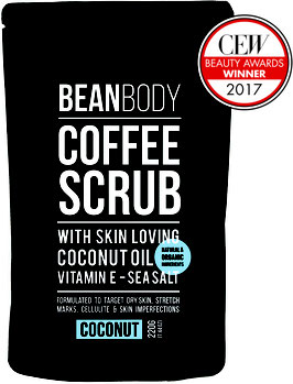 Beanbody coconut coffee scrub