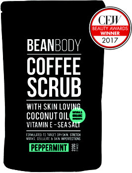 Beanbody peppermint body scrub
