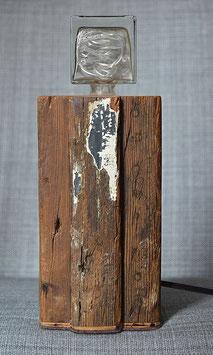 17-Lámpara de madera reciclada