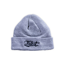 """Fullest"" beanie // heather gray"