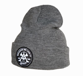 "Beanie ""Orig. Becauseweliveit Badge"" beanie // heather gray"