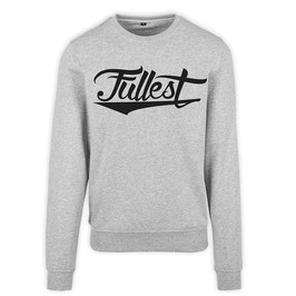 """Fullest"" crewneck sweater // heather gray"