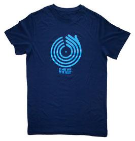 """""""DJ MARC HYPE"""" artist T-shirt // navy blue"""