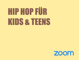 Hip Hop Kids & Teens ( ZOOM KURS)