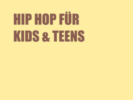 HIP HOP KIDS & TEENS
