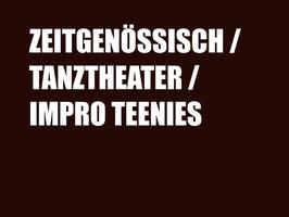 Zeitgenössisch / Tanztheater / Impro (Teenies)