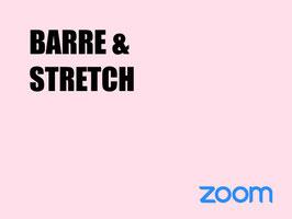 BARRE &STRETCH ERWACHSENE (ZOOM KURS)