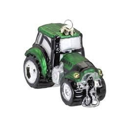 Galsornament Traktor grün