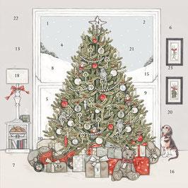 "ADCAL006 Adventskalender Sally Swannell ""Under the Chrstimas Tree"""