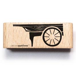 27312 Stempel Holzkarren