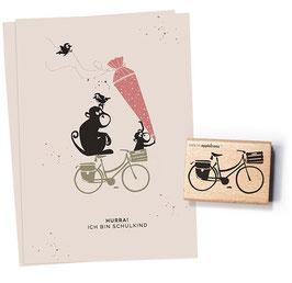 27497 Stempel Fahrrad 2 - Hollandrad