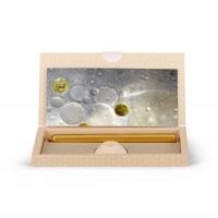 Brieflicht gefrorene Seifenblase