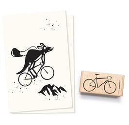 2456 Stempel Fahrrad