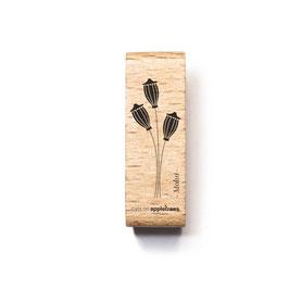 27568 Stempel Pflanze 41 - Mohn