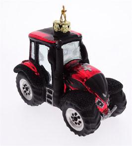 Christbaumschmuck Traktor rot