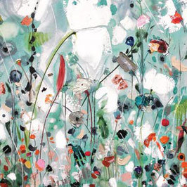 3575 GREETING CARD ART -SOMETHING BEAUTIFUL- DILIGENTLY