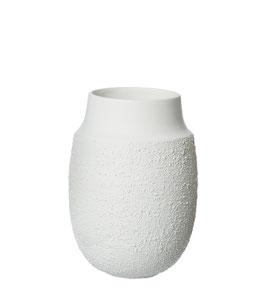 AYA1WS  Vase klein, Weiße Struktur