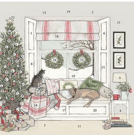 """ADCAL005 Adventskalender Sally Swannell """"Waiting for Father Christmas"""""""