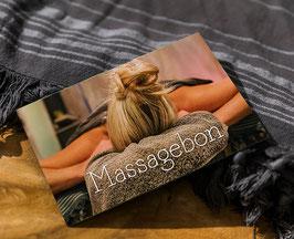 Massagebon met bedrag