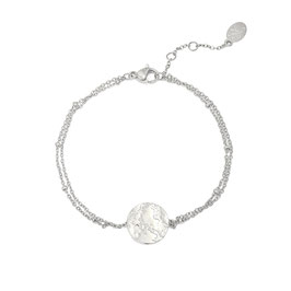 Armband Cast in stone Silver