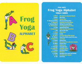 Frog Yoga Alphabet