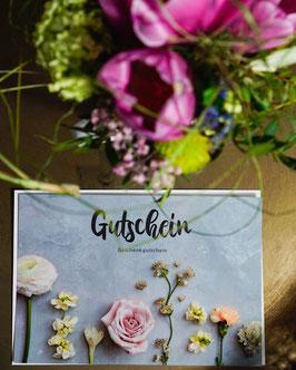 GUTSCHEIN für einen Blumenstrauß Deiner Wahl