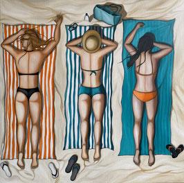 Trio à la plage