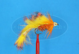 Streamer gelb/orange Gr.6