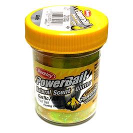 Powerbait Natural Scent Glitter Garlic Rainbow