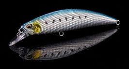 SPOOKY Wobbler 95S blue silver